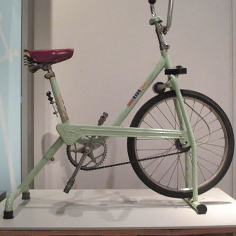 B. H. stationary bike