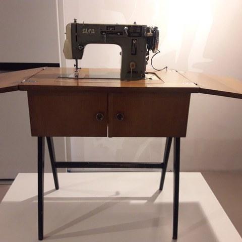 """Alfamatic Model 103"" Sewing Machine"