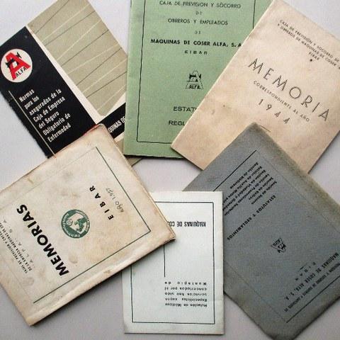 Manuales, estatutos y memorias de Alfa