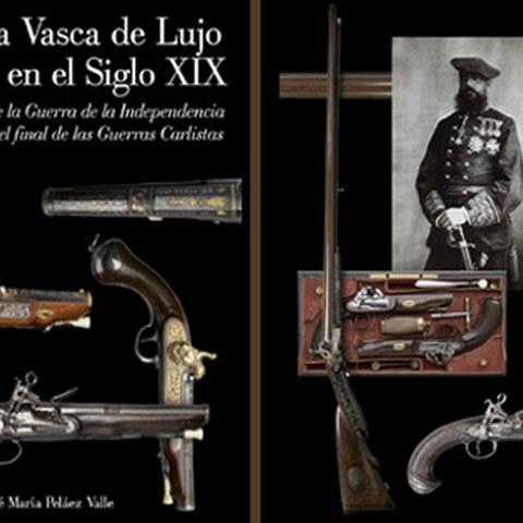 """Portalea acogió la presentación del libro """"Armería Vasca de Lujo en el Siglo XIX"""""""