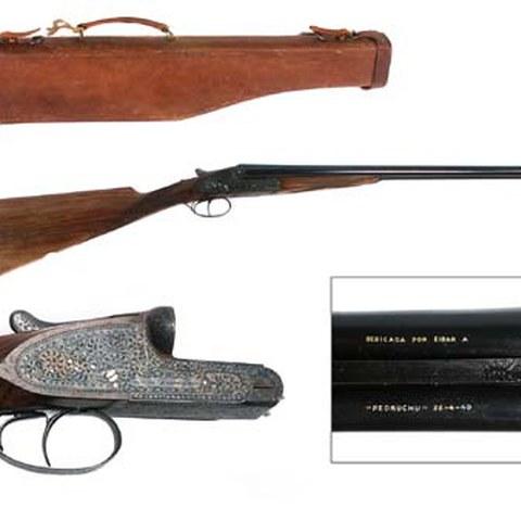 "La Residencia San Andrés dona una escopeta de ""Pedrucho"" al Museo de la Industria Armera."