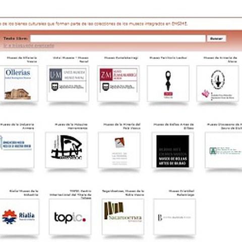 El Catálogo Colectivo de las colecciones de los museos (EMSIME) ya está en la red