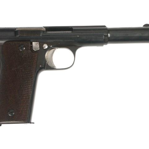 Astra pistola erdiautomatikoa, 1921 modeloa.