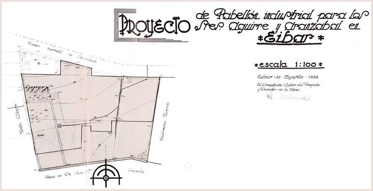 Eibarko industria-sarearen berreraikuntza 1938-1942